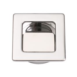 """Inset Handle """"Inlay Square"""" Polished Chrome"""